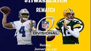 Packers @ Cowboys 2016 REMATCH Highlights