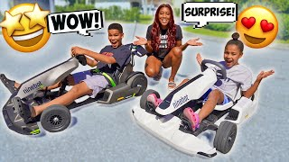 Surprising Cali & Kameiro with Go-Karts!!