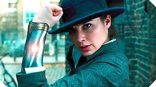 WONDER WOMAN (Gal Gadot, Superhero Movie) - ALL the Movie Clips + Trailer Compilation