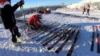 Ski-WM Are 2019 – So Testet Stöckli Seine Abfahrtsski