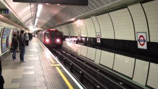 preview picture of video 'Central Line Train arriving at Wanstead'