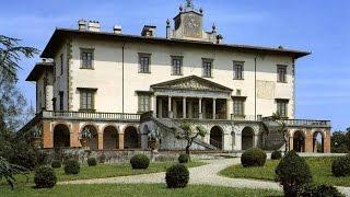preview picture of video 'La Villa medicea di Poggio a Caiano'