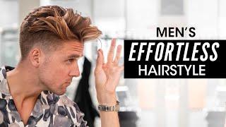 Effortless Hairstyle for Men - Step by Step Hair Tutorial