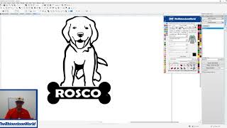 How To Create A Custom Dog Vinyl Car Decal With CorelDRAW And TRW Design Wizard Coupon Code