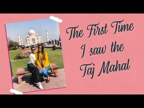Nigaar and Gauahar see the Taj Mahal for the first time | Gauahar Khan