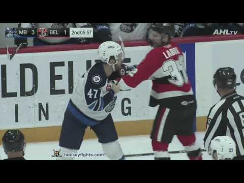 Hubert Labrie vs. Charles-David Beaudoin