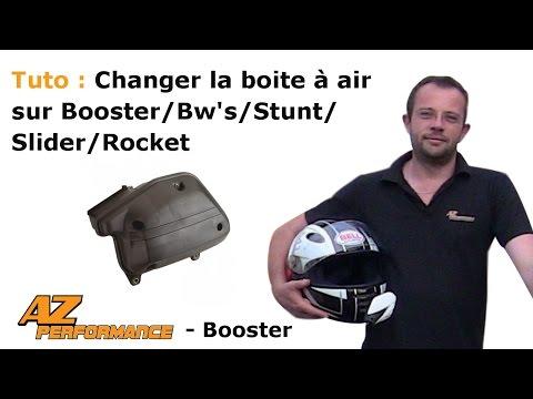 Changer ou nettoyer la boîte à air d'origine de son Booster / Stunt / Rocket / ...