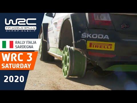 WRC3 ラリー・イタリア・サルディニア 土曜日に行われたラリーのハイライト動画