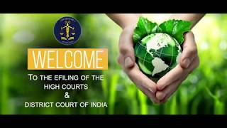 English – How to e File a new case – High Courts and District courts of India;?>