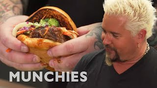 Make Guy Fieri's Quick BBQ Brisket - How To