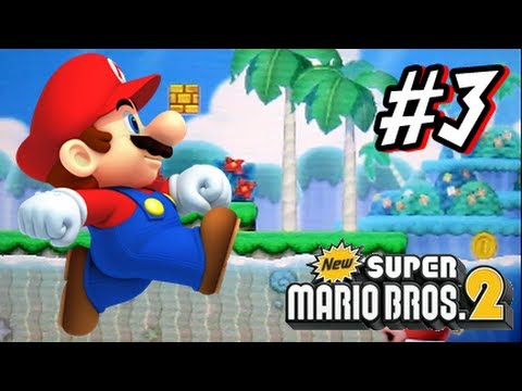 New Super Mario Bros 2 Walkthrough - 3DS - Part 1 World 1 by