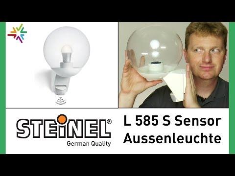 """""""STEINEL L 585 S"""" Sensor Außenleuchte [watt24-Video Nr. 82]"""