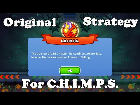 BTD6 HAUNTED CHIMPS (Black Border) - 5 0 Update - игровое