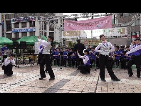 松戸市立第四中学校 吹奏楽部「JABBER LOOP メドレー」