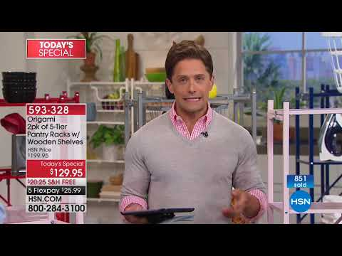 HSN | Kitchen Solutions featuring Origami 05.21.2018 - 12 AM