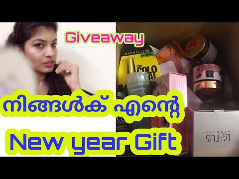 Giveaway Time😍😍||GirlycrowdFam New Year Gift||Malayalam||
