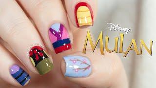 Mulan Nails | Disney Nail Art | NailsByErin