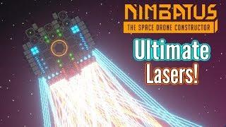 Nimbatus | ULTIMATE Lasers (Digging & Attacking)!! | Closed Alpha Gameplay!