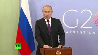 фиаско Путина в Аргентине