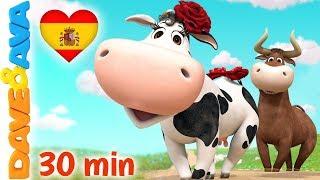 🌺 La Vaca Lola y Más Videos para Niños | Dave y Ava 🌺