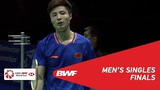 F | MS | SHI Yuqi (CHN) [1] vs SAI PRANEETH B. (IND) | BWF 2019