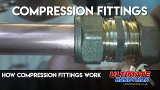 How compression fittings work
