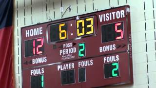 Frisco Liberty High School Varsity Girls vs The Colony 12 18 2015