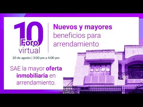 10 Foro Virtual - Nuevos y mayores beneficios para arrendamiento
