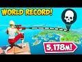 *WORLD RECORD* LONGEST KILL! (5,178M) - Fortnite Funny Fails and WTF Moments! #862