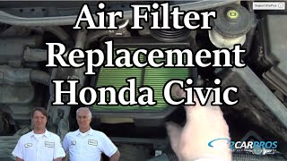 Air Filter Replacement Honda Civic 2006-2011