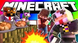Minecraft Do Not Laugh | BUTT FLYING?!