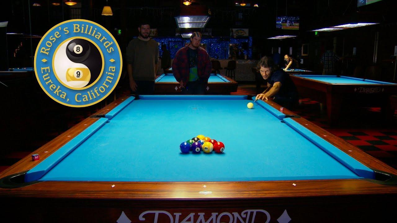 TV Ad for a Pool Hall.