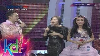 Jessica Iskandar Dan Julia Perez Rebutan Mahesya, Mukhlis - Kontes Final KDI 2015 (6/5)