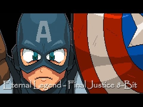Metal Up Your 8-Bit, Part 1 - Final Justice(Captain America)
