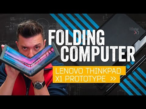 Lenovo's Folding PC Might Be The Future Of Laptops