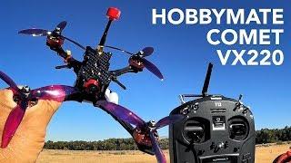 "HOBBYMATE 5"" COMET VX220 FPV RACING DRONE KITS / PNP / BNF"