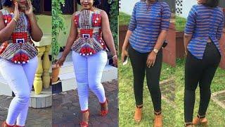 African Fashion : Ankara Tops || Aso Ebi Styles || 2020 Ankara Top Styles