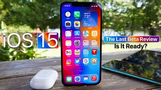 iOS 15 - The Last Beta Review - Is It Ready?