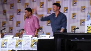 Almost Human: Karl Urban Comic Con 2013 [1]