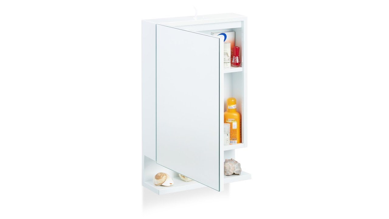 Video von: Badspiegelschrank mit Steckdose