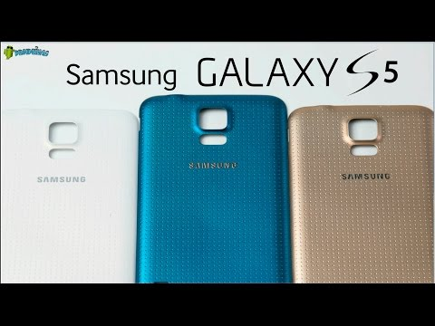 Samsung Galaxy S5 - Gold vs Electric Blue vs White - Tipp: Einfach mal die Farbe Tauschen;)