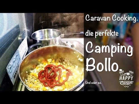 HAPPY CAMPING | Caravan Cooking - Spaghetti Bolognese