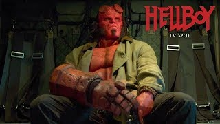 "VIDEO: HELLBOY – ""Never Fear"" TV Spot"