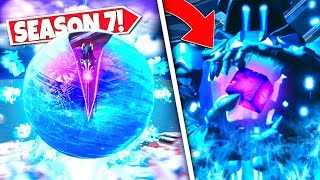 *NEW* FLOATING ICE BALL *OPENING* REVEALING THE NEW CUBE STONE! SEASON 7 UPDATE!: BR