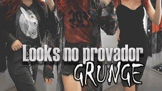 LOOKS NO PROVADOR: GRUNGE