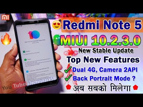 Redmi Note 5 MIUI 10 Stable Update Coming Soon | MIUI 10 Next Stable