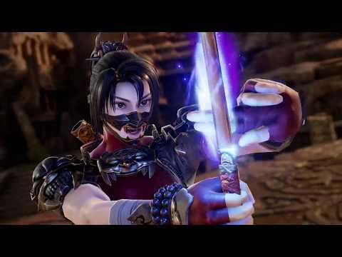Trailer de présentation pour Taki de SoulCalibur VI