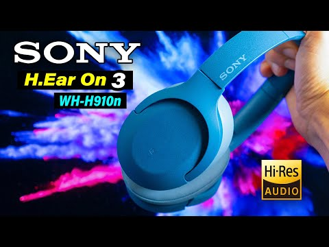 External Review Video KPB-dtpqONg for Sony WH-H910N Wireless Headphones with Noise Cancellation