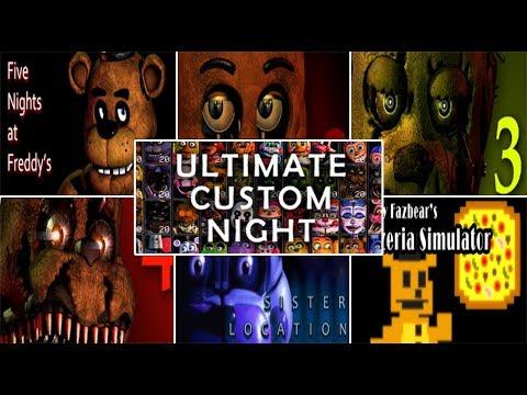 Ultimate Custom Night Five Nights at Freddy's Jumpscare Simulator