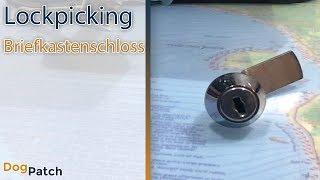 (GER-003) Lockpicking - Schloss knacken 101 - Briefkastenschloss - single + rake